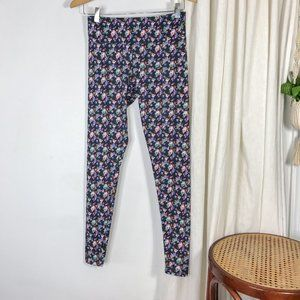ONZIE Floral Sky Full Length Abstract Leggings